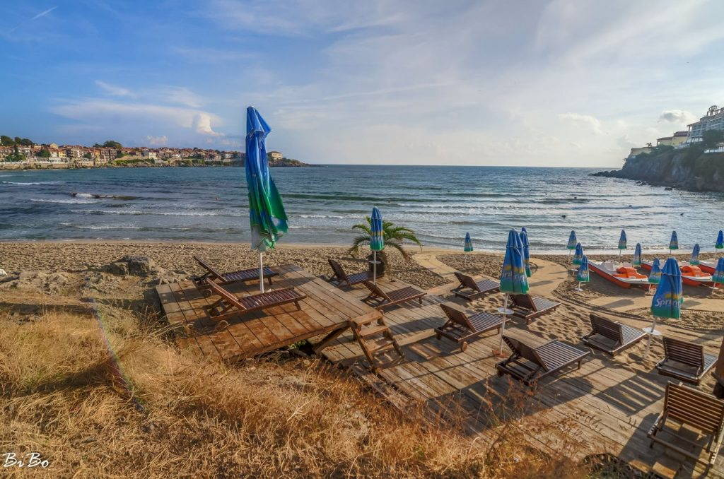 Sozopol's Central beach