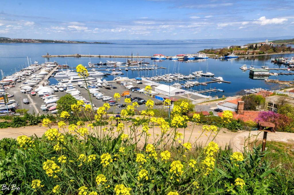 The yacht port of Sozopol